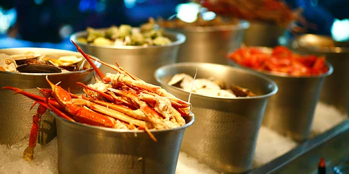 Seafood Station from Yi Cafe in Pudong, Shanghai