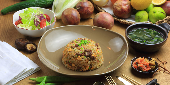Fired Rice of Oriental House located on Anfu Lu