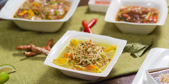 Food from Bumbu in Jing