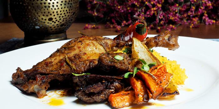 Food of Tajine Moroccan Restaurant & Lounge located on The Bund, Shanghai