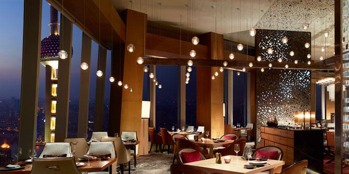 Indoor of Scena located on Lujiazui, Shanghai