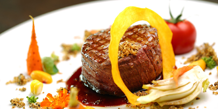 Steak of 1515 West Chophouse & Bar located in Shangri-La Jing