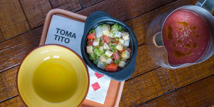 Gazpacho andaluzof Tomatito located on Taixing Lu, Shanghai