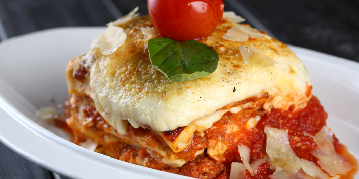 Lasagna from Alla Torre (Bingo) located in Changning, Shanghai