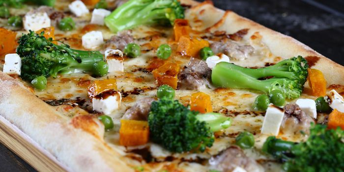Veggie Pizza from Alla Torre (Bingo) located in Changning, Shanghai