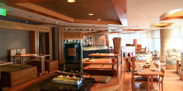 Indoor of Kobachi located in Grand Hyatt Pudong, Shanghai