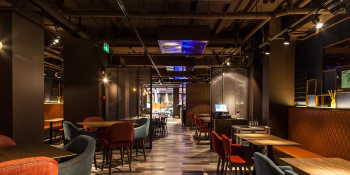 Indoor of JR Recipe located on Taixing Lu, Shanghai