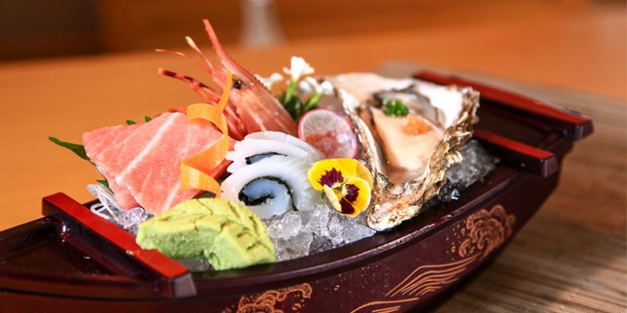 Sashimi Plate of Kobachi located in Grand Hyatt Pudong, Shanghai