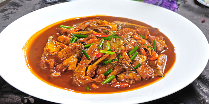 Braised chicken of MOTT539 located near Sinan Lu, Shanghai
