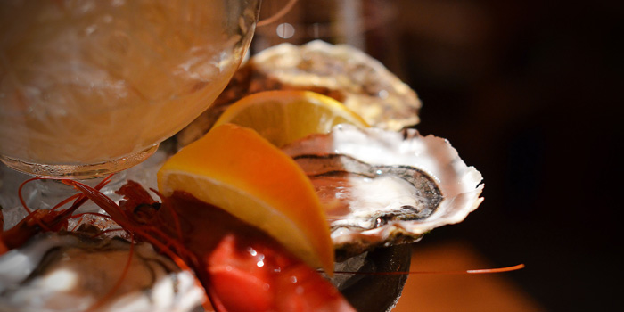 Fresh Oyster of Fumo Wine Bistro located on Xinle Lu, Xuhui District, Shanghai