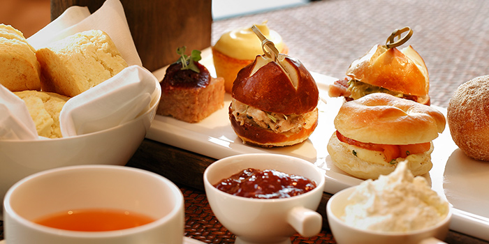 Afternoon Tea Set from Phenix Eatery and Bar located in Jing