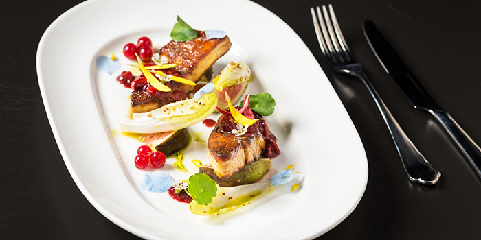 Salmon from FED Restaurant & Sky Lounge located in Luwan, Shanghai