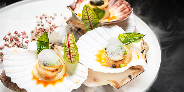 Scallops from FED Restaurant & Sky Lounge located in Luwan, Shanghai