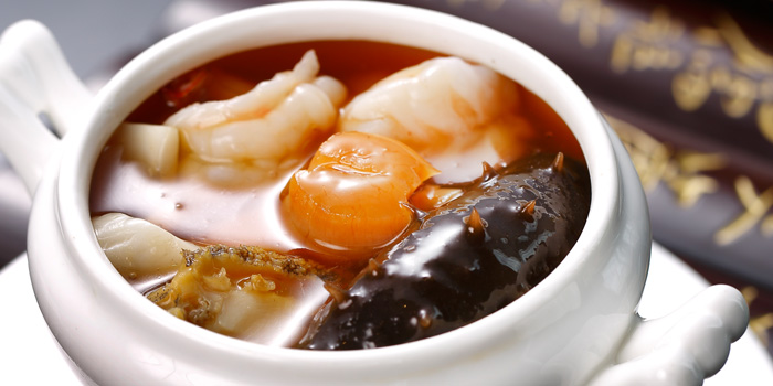 Food of Pearl Chinese Restaurant located on Daduhe Lu, Putuo, Shanghai