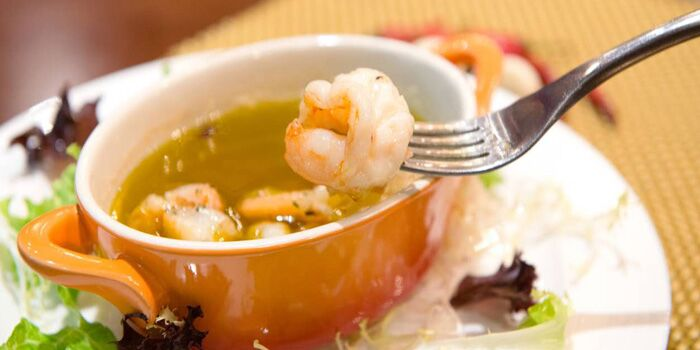 Seafood Soup from Notting House located in Xuhui, Shanghai