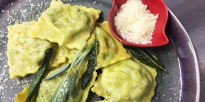 Ravioli from Favorita (Xinzha Lu) located in Jing