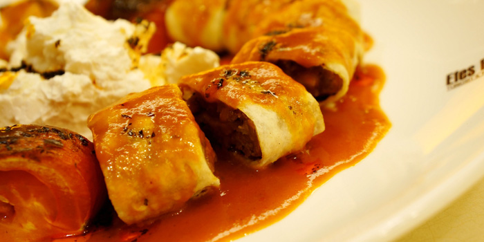 Food of Efes Restaurant Turkish & Mediterranean Cuisine located in Lujiazui, Pudong District, Shanghai, China