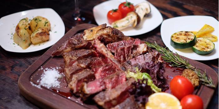Food of Bianchi & Bella Ciao located on Jianguo Zhong Lu, Luwan, Shanghai