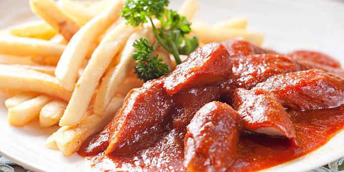 Food of Drei Kronen 1308 located on Dongdaming Lu, Hongkou, Shanghai
