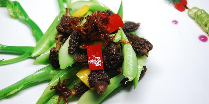Food of Zasag located on Huashan Lu, Xuhui District, Shanghai, China