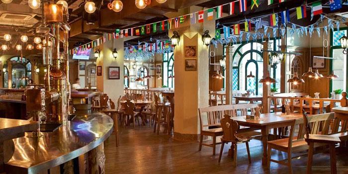 Indoor of Drei Kronen 1308 located on Dongdaming Lu, Hongkou, Shanghai