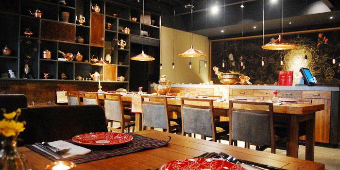 Indoor of Zasag located on Huashan Lu, Xuhui District, Shanghai, China