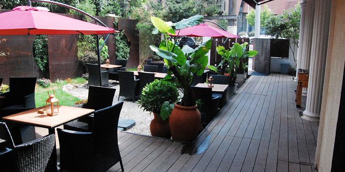 Outdoor of Zasag located on Huashan Lu, Xuhui District, Shanghai, China