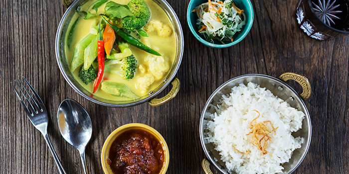 Detox Vegetable Curry with Almond Milk from Ginger Modern Asian Bistro located in Xuhui, Shanghai