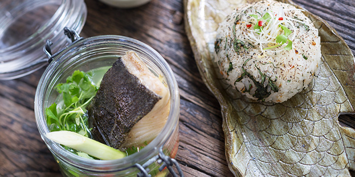 Steamed Black Cod from Ginger Modern Asian Bistro located in Xuhui, Shanghai