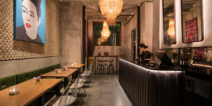 Wine Room of Ginger Modern Asian Bistro located in Xuhui, Shanghai