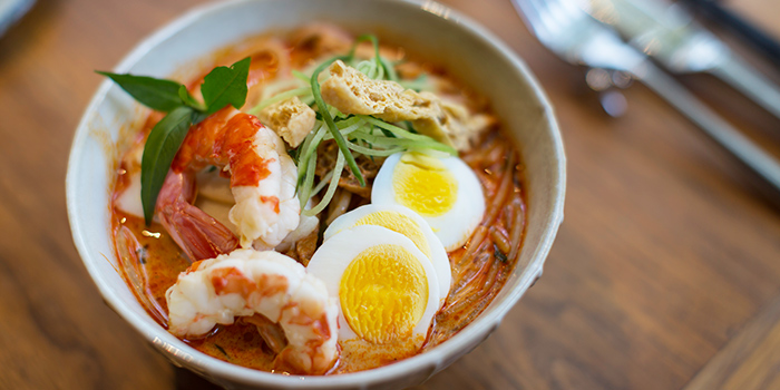 Singapore Laksa from Ginger Modern Asian Bistro located in Xuhui, Shanghai