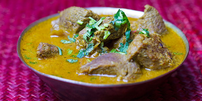 Beef Curry from Nepali Kitchen located in Jing