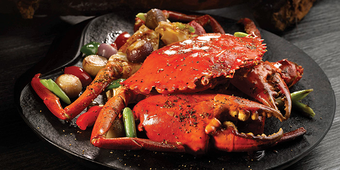 Black Pepper Crab from Crystal Jade Restaurant (Takashimaya) located in Hongqiao, Shanghai