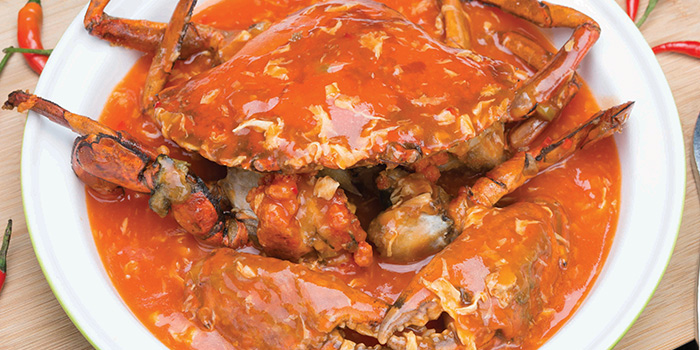 Chilli Crab from Crystal Jade Restaurant (Disneyland) located in Pudong, Shanghai
