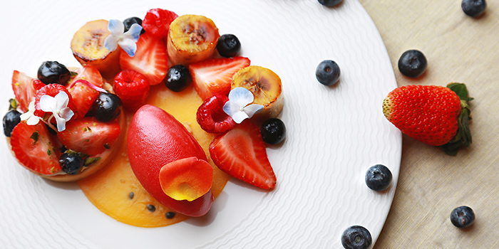 Fruit Dessert from Bund 1 located in Huangpu, Shanghai