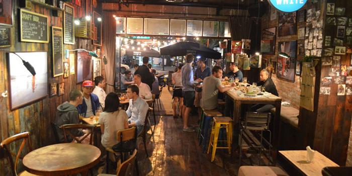 Interior of Cafe des Stagiaires (Dagu Lu) located in Jing