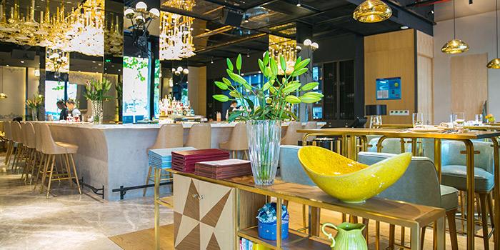 Interior of Bund 1 located in Huangpu, Shanghai