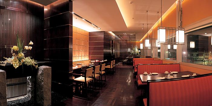 Interior of Crystal Jade Restaurant (Xintiandi) located in Huangpu, Shanghai