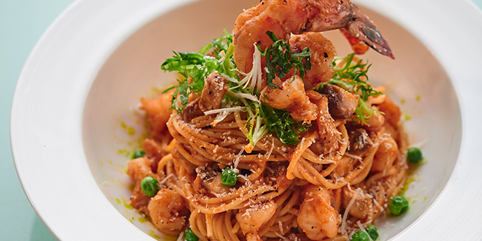 King Prawn Pasta from Element Fresh (Shanghai Center) located in Jing