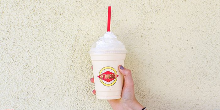 Milkshakes from Fatburger (Shanghai Tower) located in Pudong, Shanghai