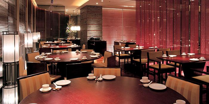 Seating Area of Crystal Jade Restaurant (Xintiandi) located in Huangpu, Shanghai