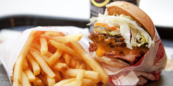 Single Fatburger Meal from Fatburger (Shanghai Tower) located in Pudong, Shanghai
