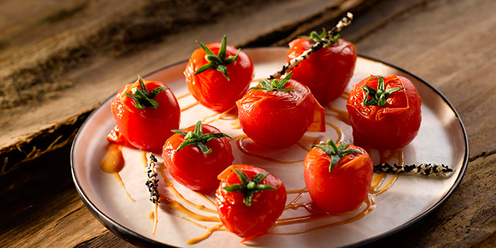 Tomatoes from Crystal Jade Restaurant (Takashimaya) located in Hongqiao, Shanghai