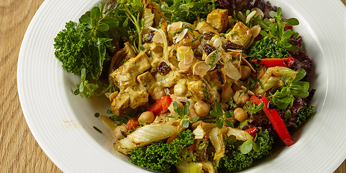 Tumeric Grilled Chicken Salad from Element Fresh (Shanghai Center) located in Jing