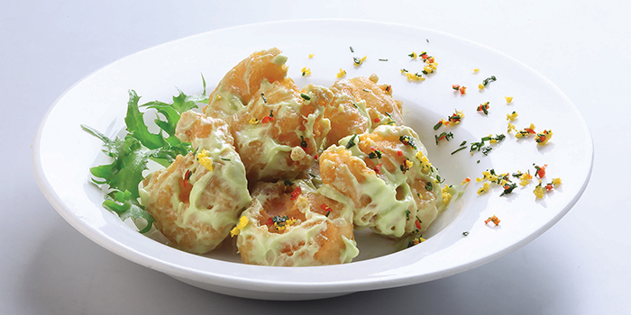 Wasabi Prawns from Crystal Jade Restaurant (Takashimaya) located in Hongqiao, Shanghai