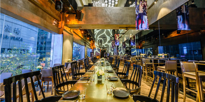 Indoor of Esee Lounge located on Huaihai Zhong Lu, Luwan, Shanghai