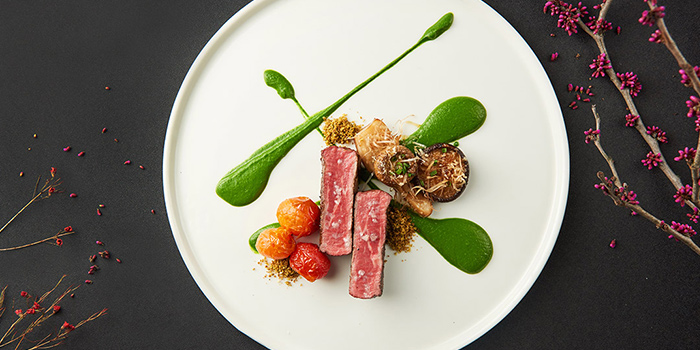 Spring Menu dish of Alan Wong