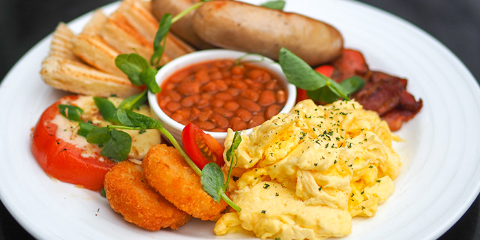 Breakfast Platter from The Caxton located in Jing
