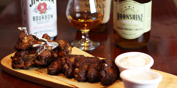 Chicken Wings from The Blind Pig Bourbon & Smokehouse located in Hongqiao, Shanghai