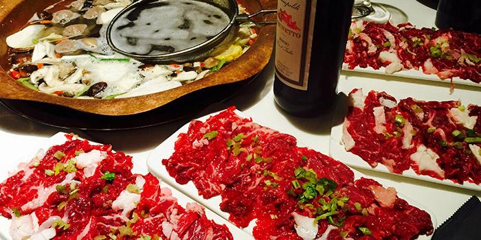 Meat from Holy Cow (Xiaomuqiao Lu) located in Xuhui, Shanghai